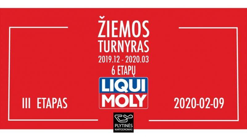 Liqui Moly žiemos turnyras: 3 etapas