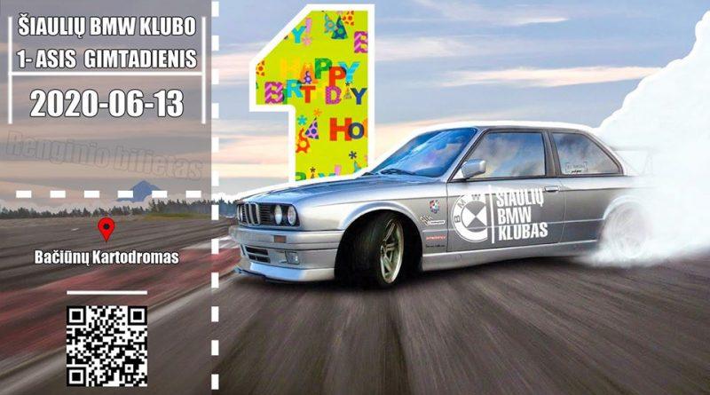 Šiaulių BMW Klubo 1-asis Gimtadienis