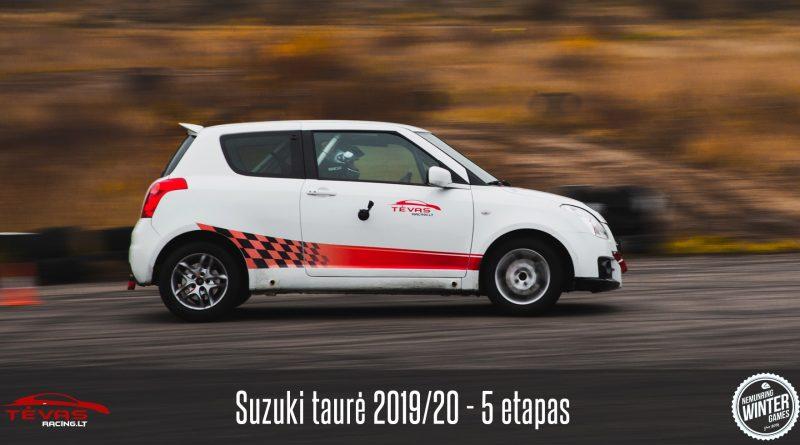 Suzuki Taurė 2019/20 – 5 etapas