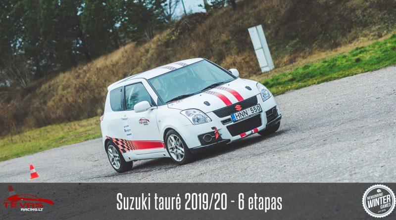 Suzuki Taurė 2019/20 – 6 etapas