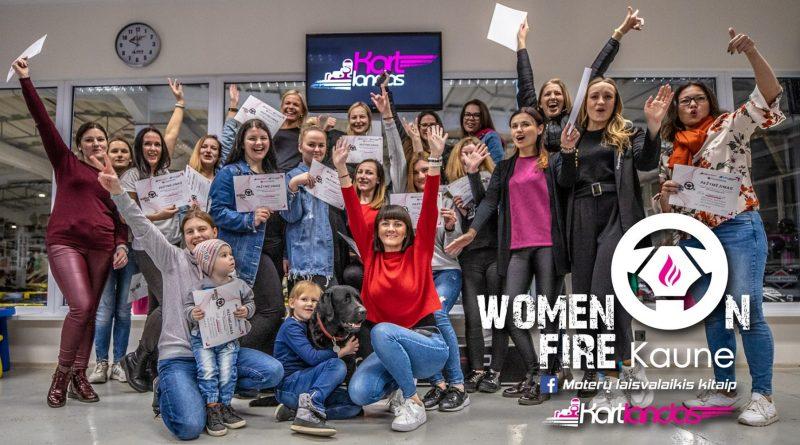 Women on FIRE 3! Moterų vakaras Kartlande