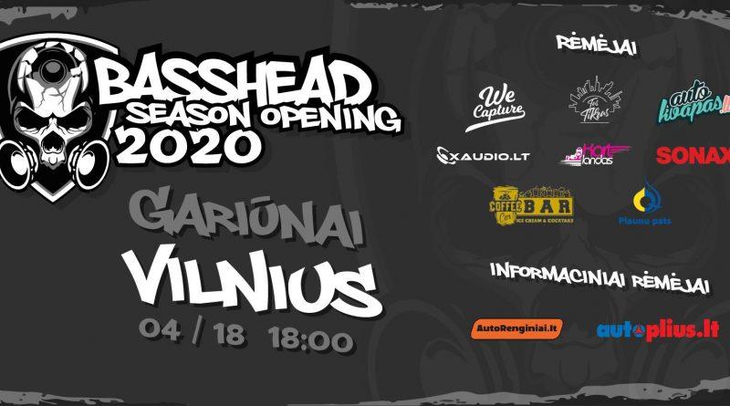Basshead's season opening 2020
