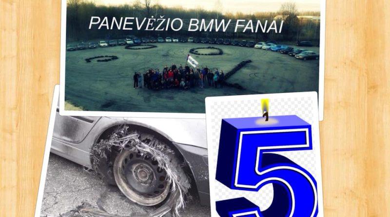 Panevėžio BMW fanams 5-i metai