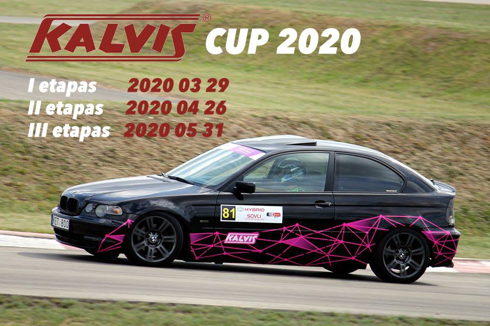 Slalomo mėgėjų varžybos - Kalvis Cup 2020 1 etapas