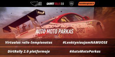 Auto Moto Parkas Rally virtualus ralio čempionatas
