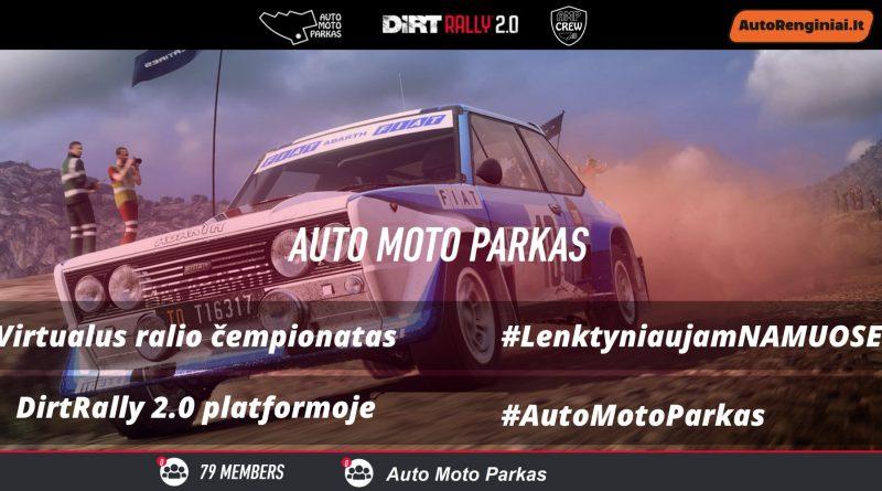 Auto Moto Parkas - virtualus čempionatas su R2 automobiliais