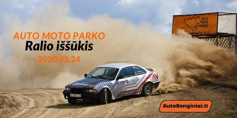Auto Moto Parko Ralio Iššūkis 05.24