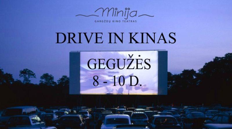Drive in kinas | Gegužės 8 - 10 d.