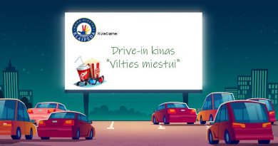 Drive in kinas Vilties miestui