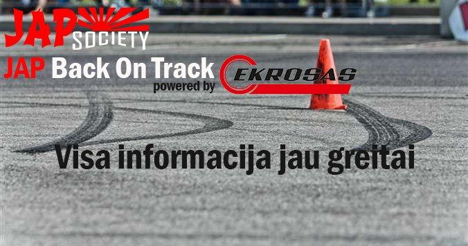 JAP Back On Track powered by Ekrosas