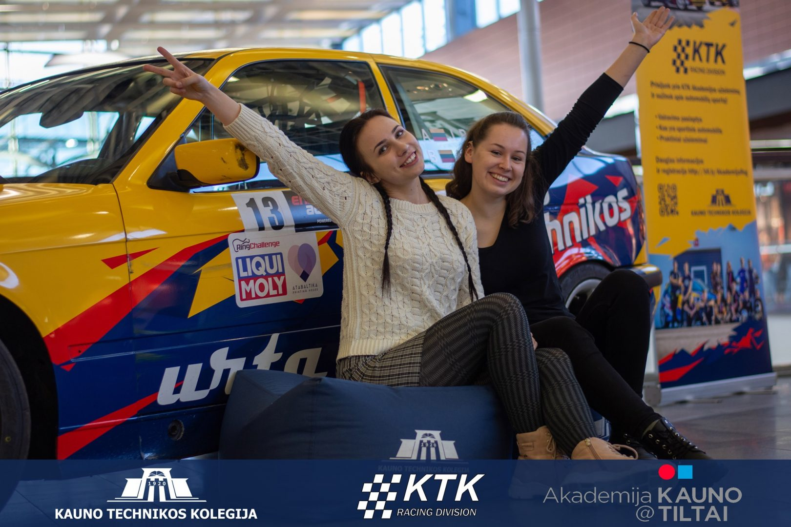KTK Racing Division automobiliai Akropolyje!