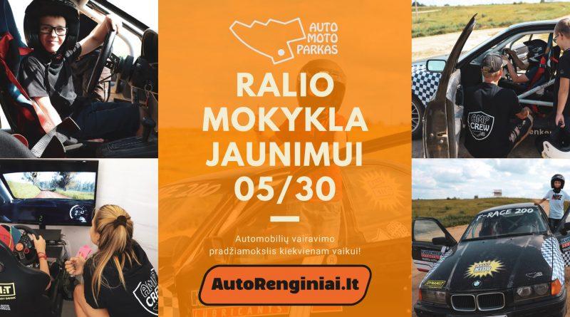 Ralio Mokykla Vaikams ir Jaunimui Auto Moto Parke