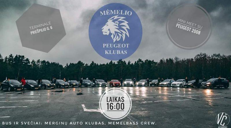 MPK Mini MEET su naujuoju Peugeot 2008
