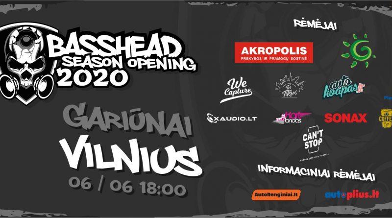 Basshead season opening 2020