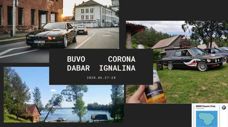 Classic Goes Camping - Buvo Corona Dabar Ignalina 2020