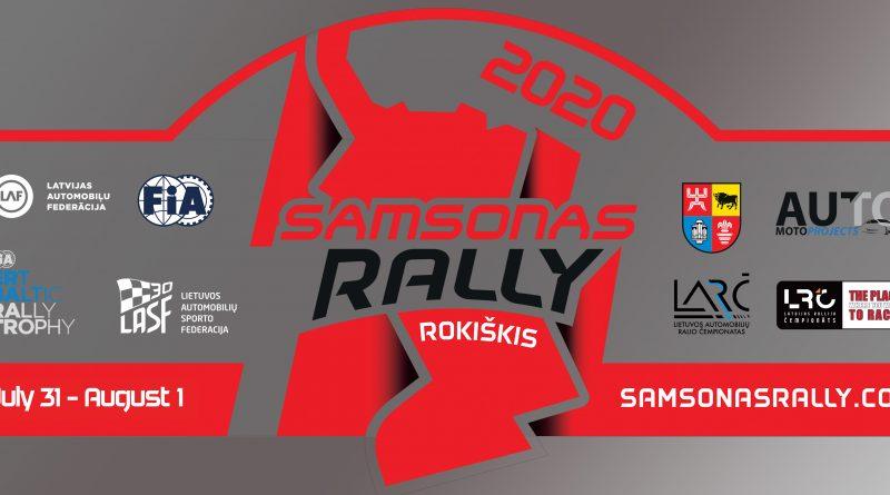 Samsonas Rally Rokiškis 2020