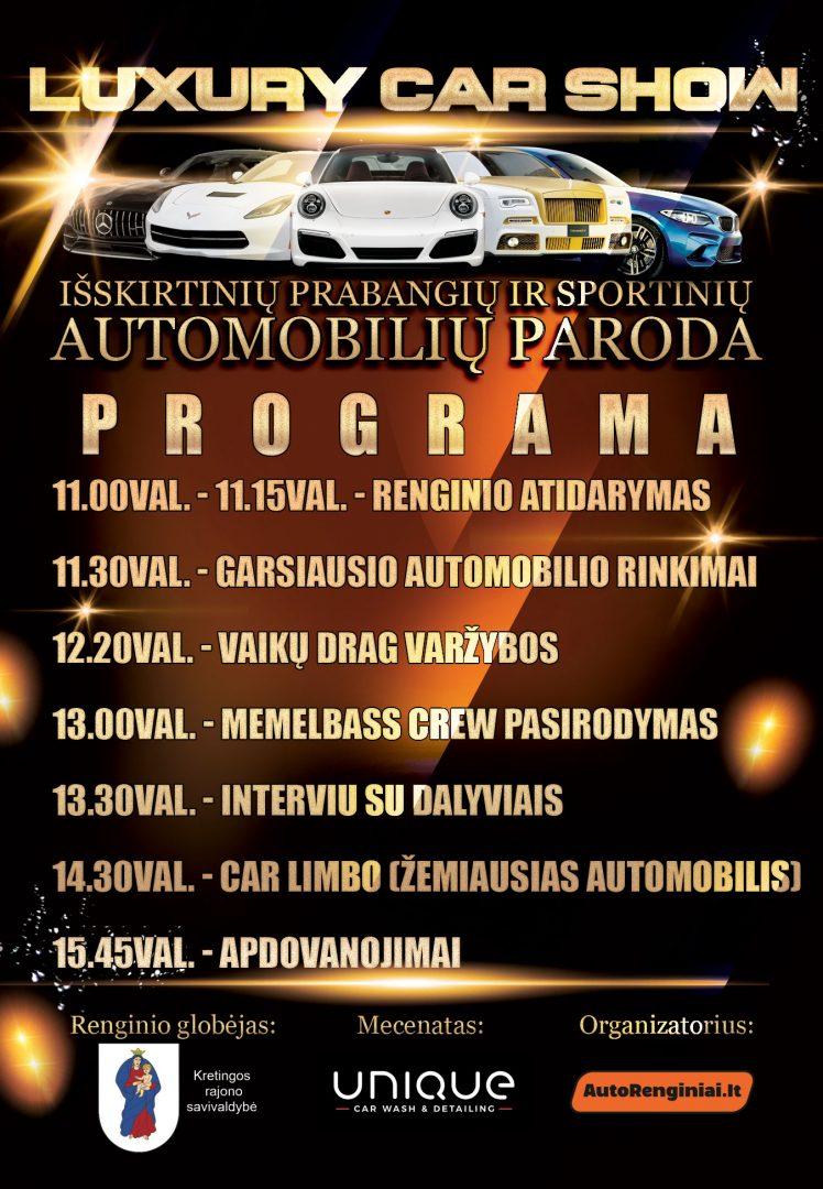 Luxury Car Show programa