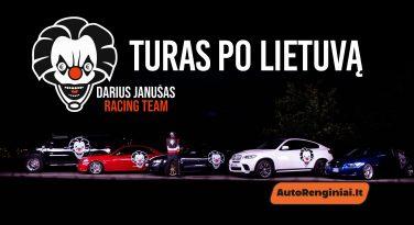 Darius Janušas RacingTeam - Turas po Lietuvą