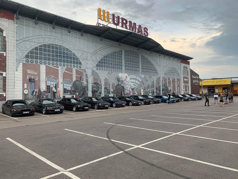Lithuania BMW E38 Meet 2020