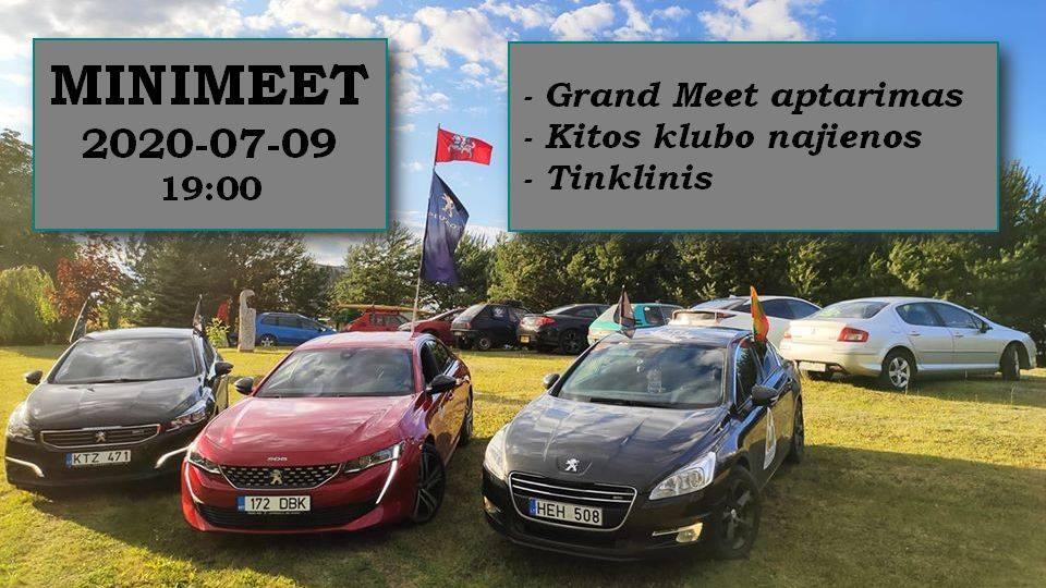 Panevėžio Peugeot Klubo mini Meet