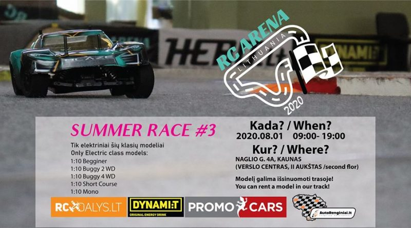 RC Arena Lithuania Summer race #3