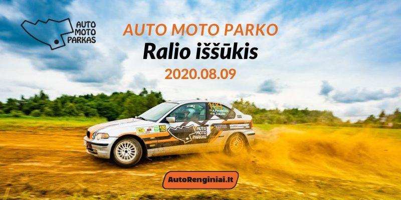 Auto Moto Parko Ralio Iššūkis 08.09