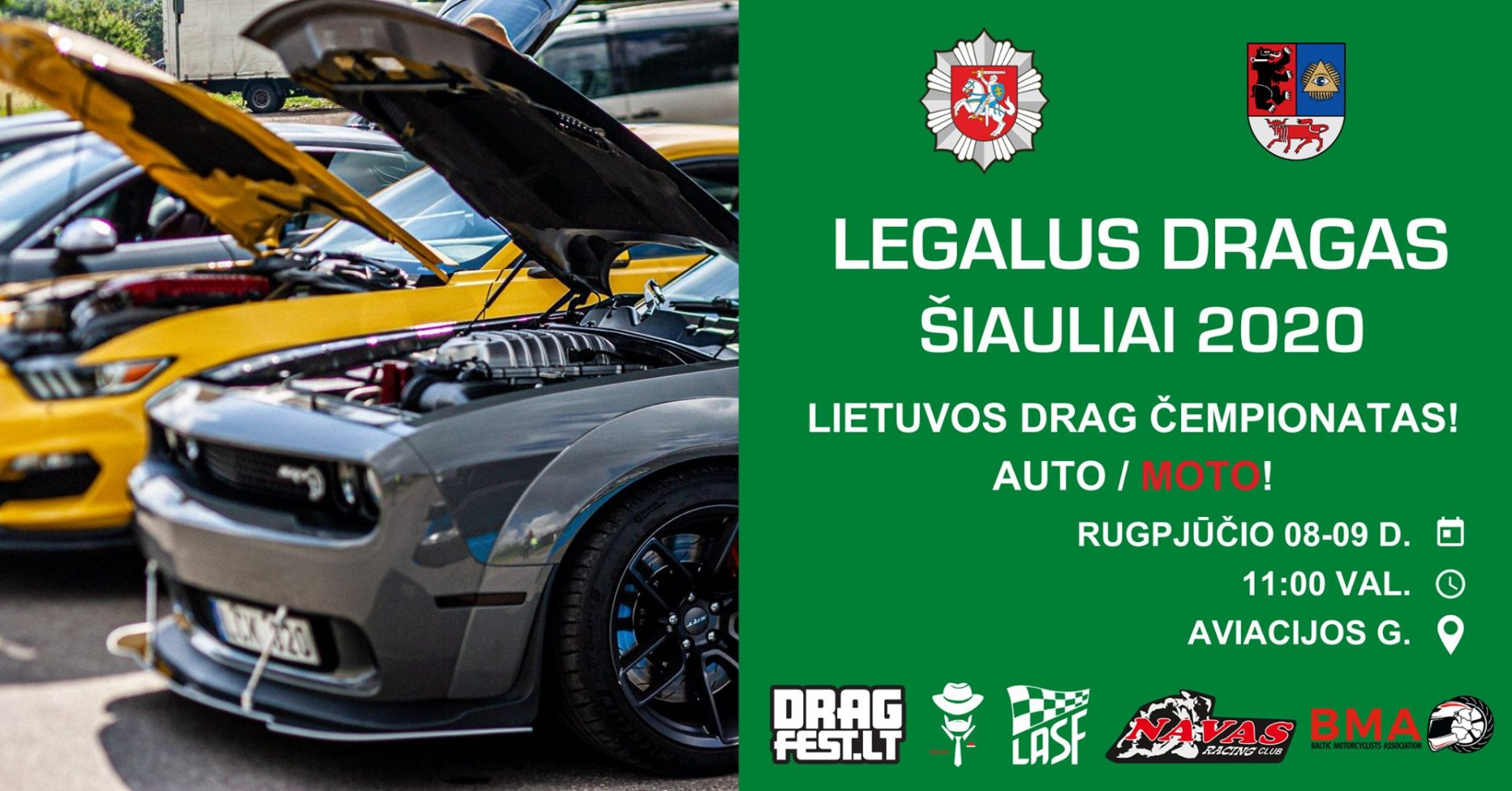 Legalus Dragas: Šiauliai 2020 (Lietuvos Drag Čempionatas!)