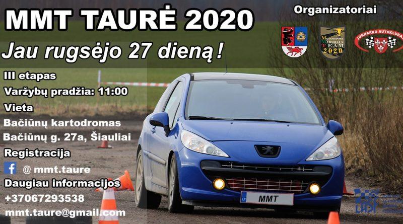 MMT Taurė 2020. III etapas