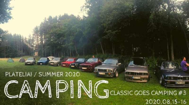 Plateliai 2020 Classic Goes Camping