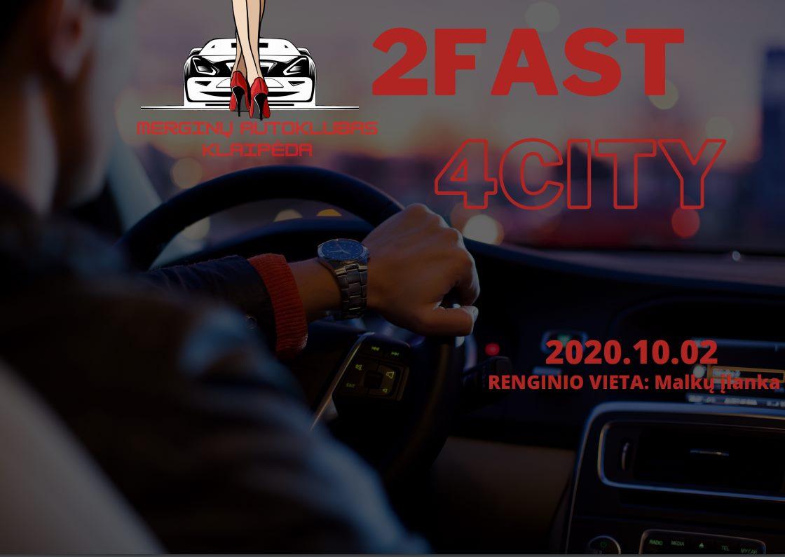 2Fast4City orientacinės varžybos Klaipėdoje