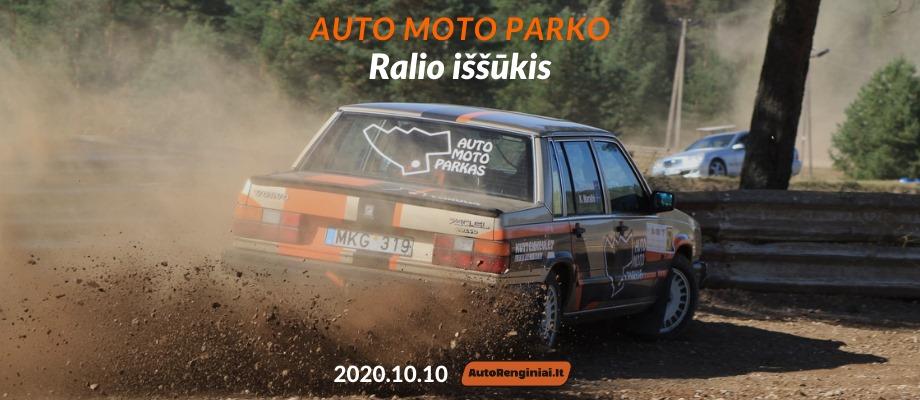 Auto Moto Parko Ralio Iššūkis 2020.10.10