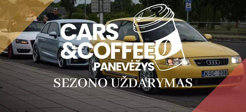 Cars & Coffee Sezono Uždarymas