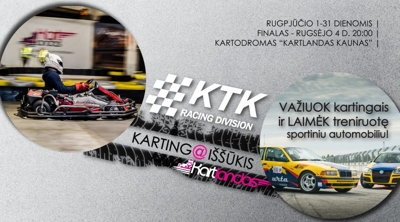 KTK Racing Division kartingo iššūkis | @Kartlandas