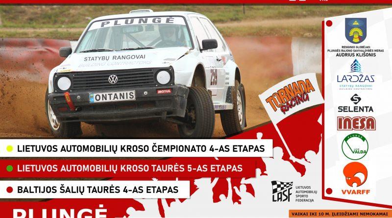 Lietuvos autokroso čempionato etapas Plungėje