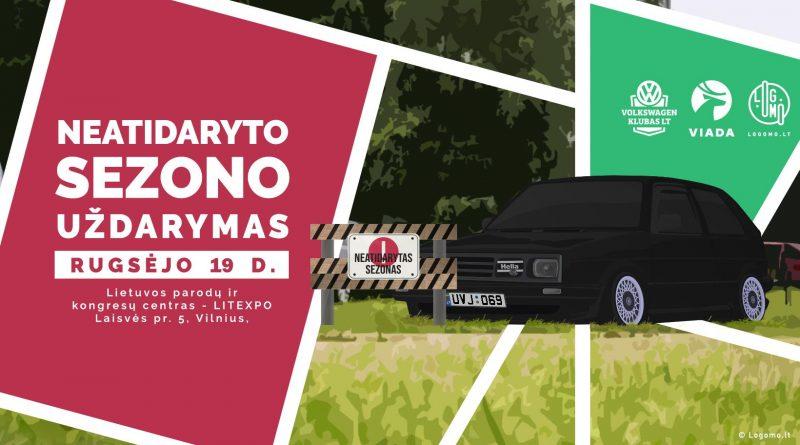 Lietuvos Volkswagen klubo neatidaryto sezono uždarymas
