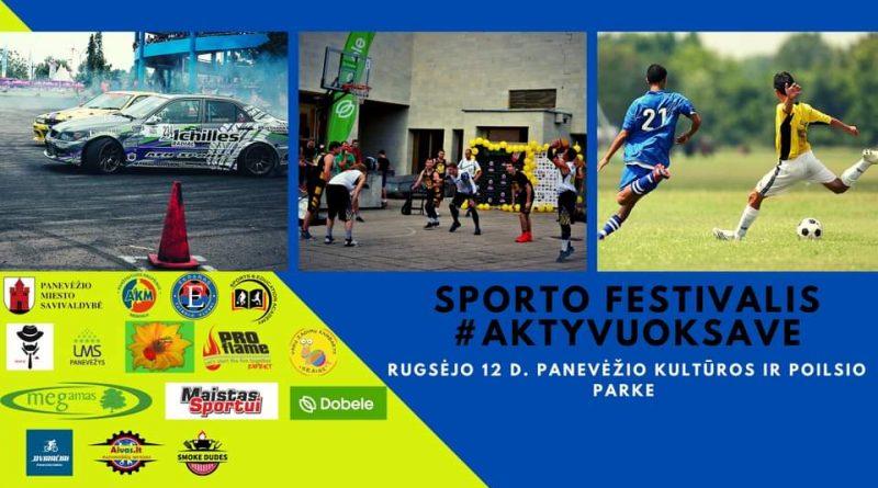 Panevėžio sporto festivalis 2020 #AktyvuokSave