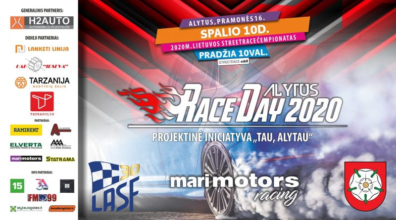 RACE DAY ALYTUS 2020 Streetrace finalas Alytuje