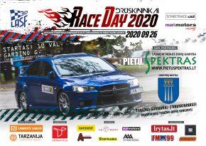 Race Day Druskininkai 2020 - Lietuvos Streetrace čempionatas VII etapas