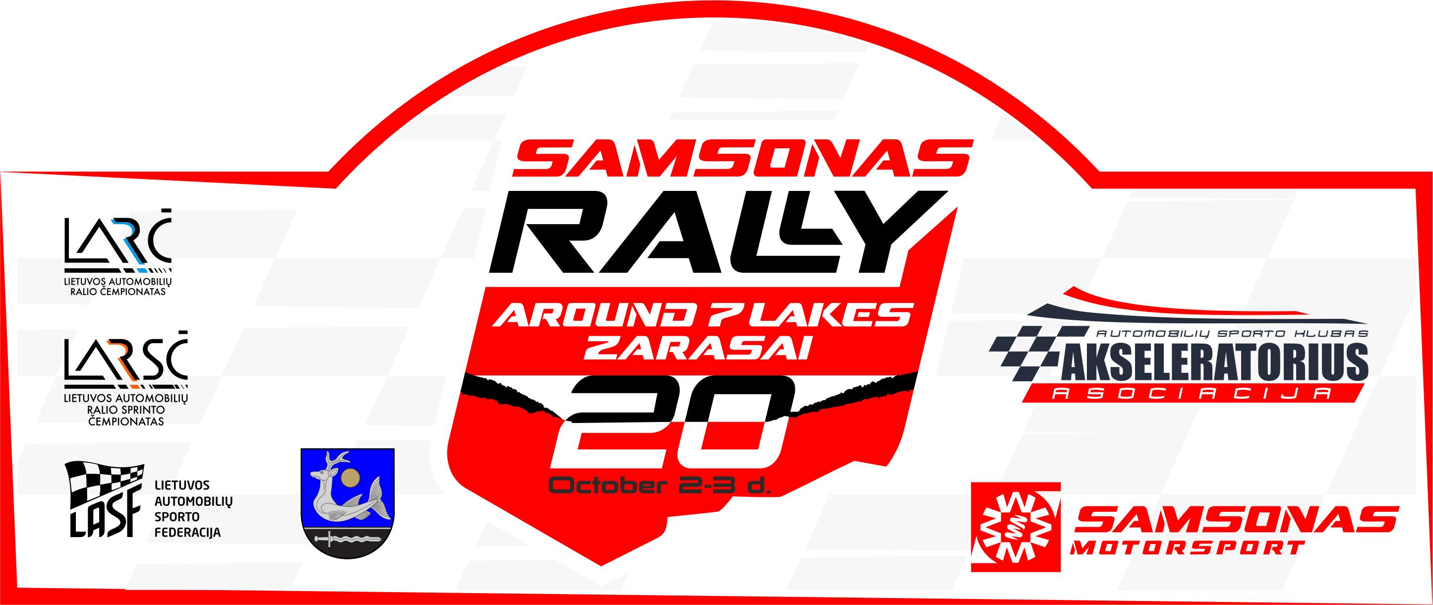 Samsonas Around 7 Lakes Rally