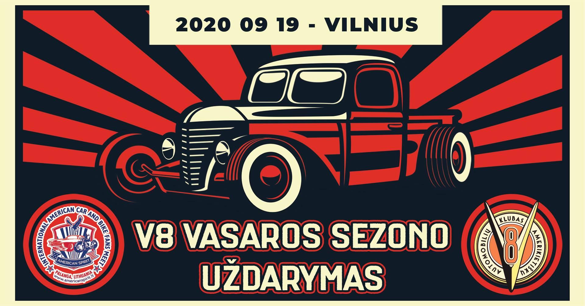 V8 sezono uždarymas