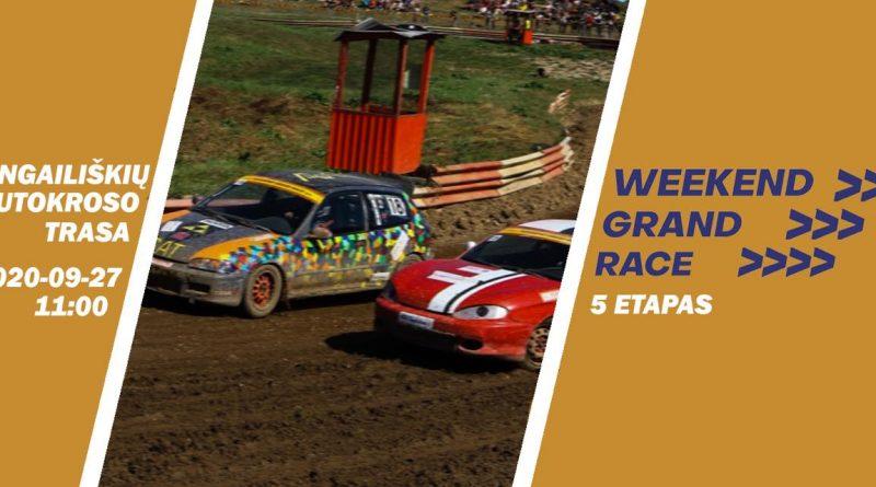Weekend Grand Race 5 etapas