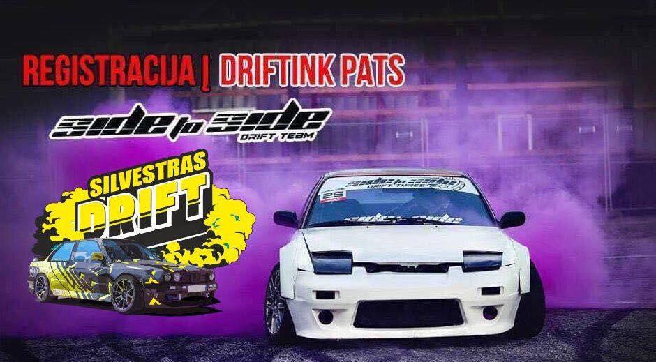 #DriftinkPats Kėdainiuose 10.10