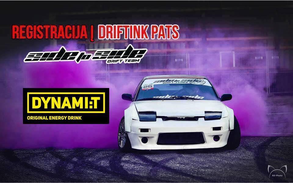 #DriftinkPats Vilniuje 10.10