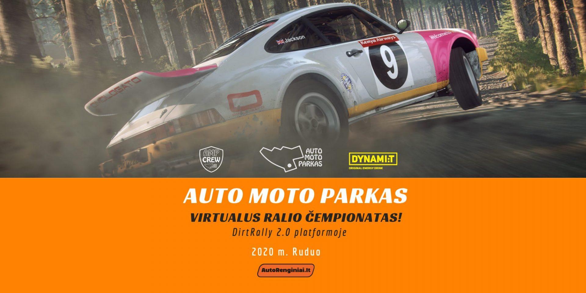 """Virtualus """"Auto Moto Parkas"""" čempionatas - RUDUO"""