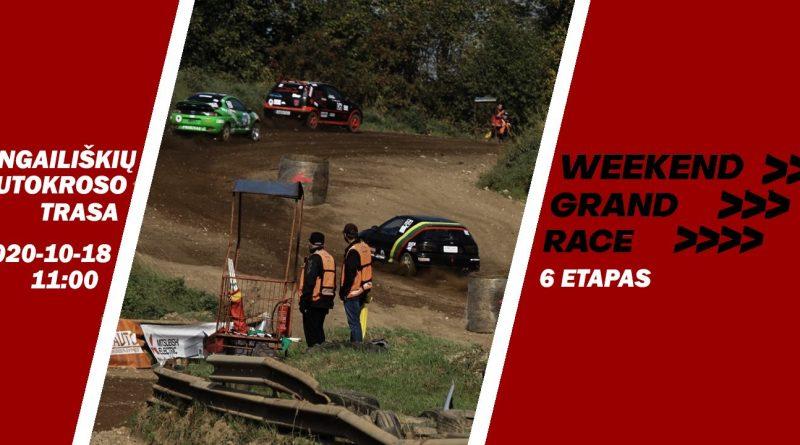 Weekend Grand Race 6etapas