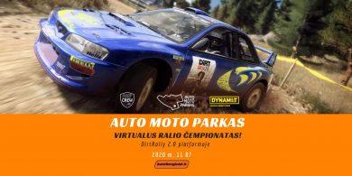 """""""Auto Moto Parkas"""" virtualus ralio čempionatas AWD"""