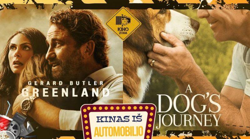 """Kinas iš Automobilio Tauragėje! Filmai - """"Šuns Tikslas 2"""" IR """"Grenlandija: Išlikimas"""""""