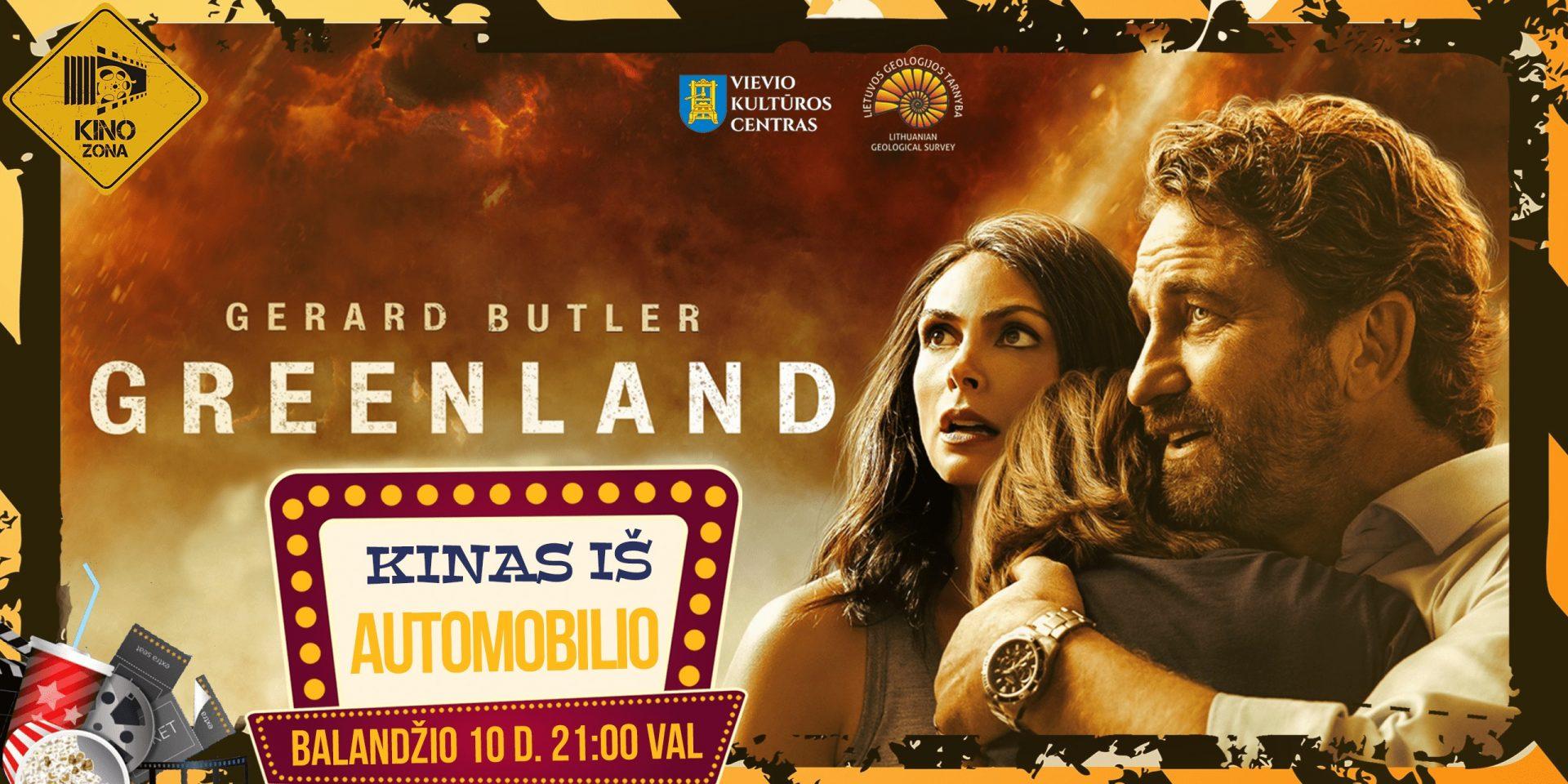 """Kinas iš Automobilio Vievyje! Veiksmo Filmas - """"Grenlandija: Išlikimas"""""""