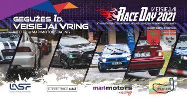 RACE DAY VEISIEJAI 2021. I Lietuvos Streetrace čempionato etapas