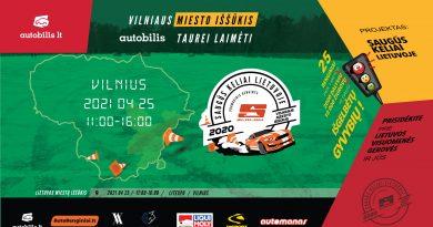 Vilniaus Miesto Iššūkis Autobilis Taurei Laimėti